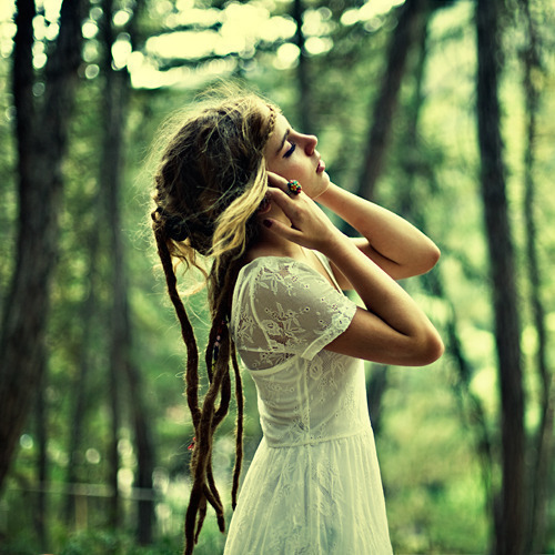 boho, cute, dreads, fashion, girl, hippie, model, nice, peace