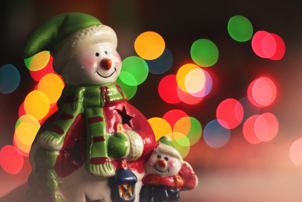 bokeh, christmas, decoration, festive, holiday