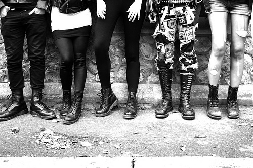 boots, doc martens, grunge, people, photography