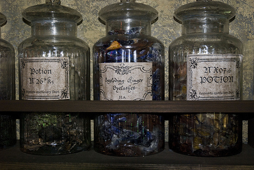 bottles, herbs, jar, jars, magic, pagan, potions, wicca, witch