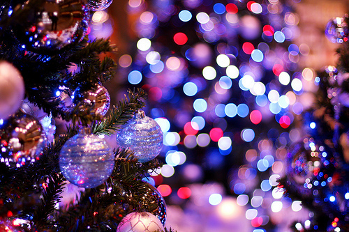 bright, christmas, christmas tree, decorations, glitter, lights, ornaments, tree, wow