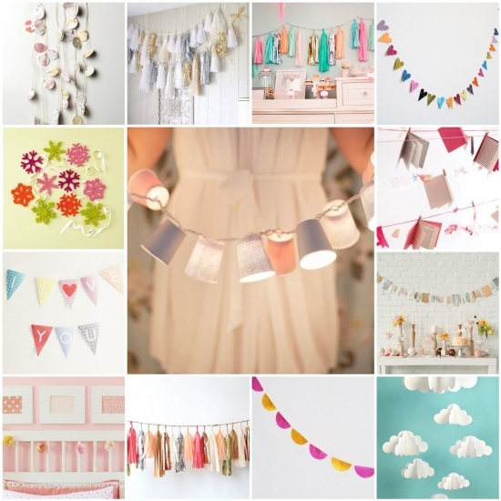 bunting, colorful, decor, decorate, event