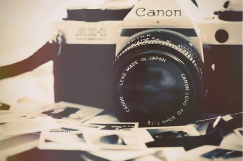 camera, canon, cute, hand, inspiring