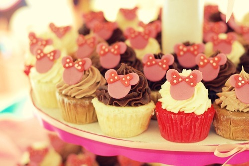 candy, cupcake, cupcakes, minnie mouse, sweets