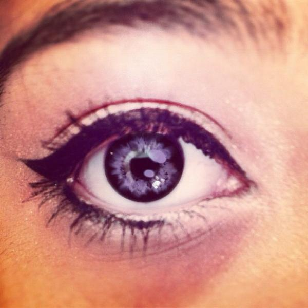 cat eye , cat eyeliner, eye, hudgens, makeup