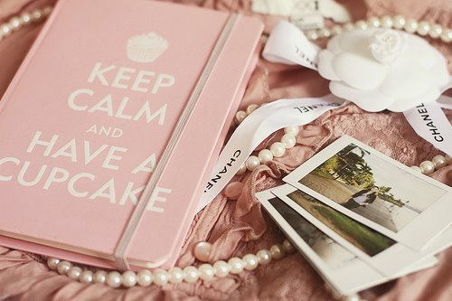 chanel, cupcake, cute, keep calm, photography, photos, pink, roses