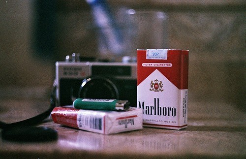 cigarettes, photography, vintage