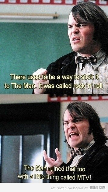 class, film, jack black, mtv, music, school of rock