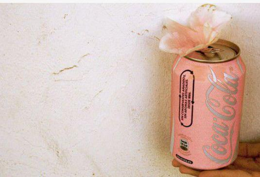 coca-cola, coke, flower, pink, rose