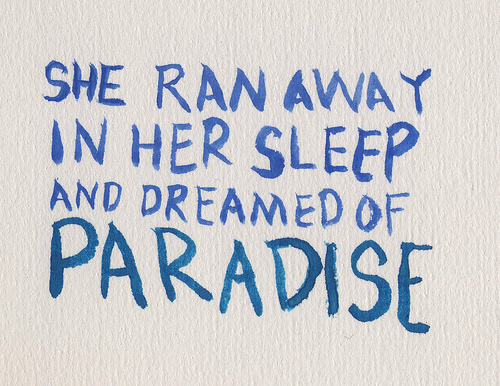 coldplay, paradise, text