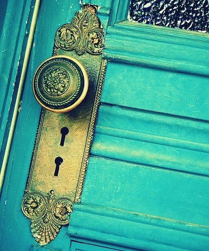 color, door, doorknob, photography, teal