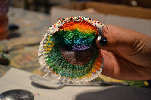 colorful, colors, cupcake, cupcakes, dessert