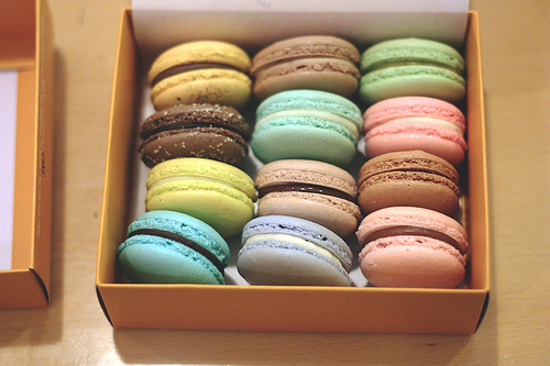 colorful, cool, delicious, french, macaroons