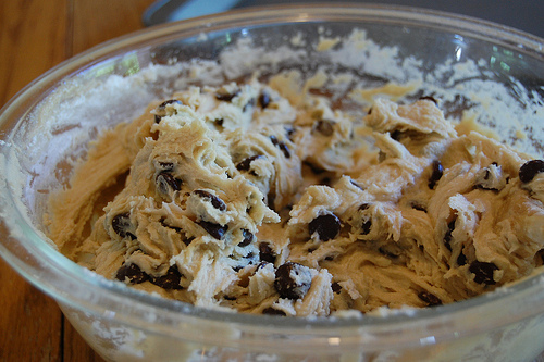 cookie, cookie dough, cookies, dough, food