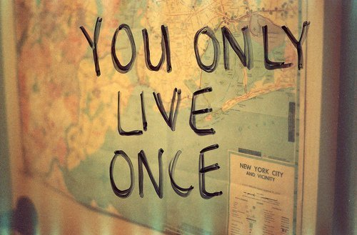 cool cute, map, you only live once