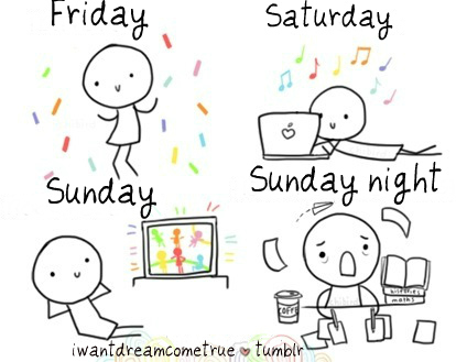 cool, friday, love, night, party, saturday, school, sunday