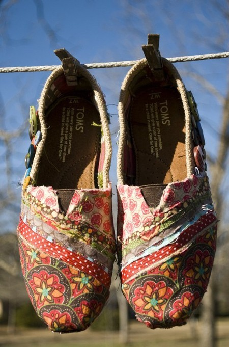 crafts, diy, fabric, fashion, shoes
