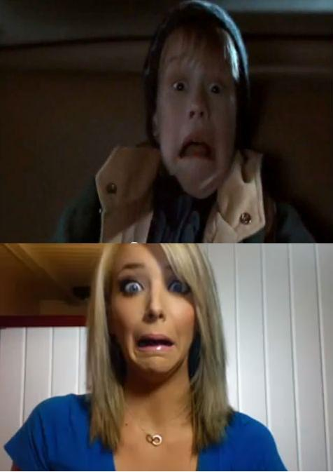 creeper face, home alone, jenna marbles