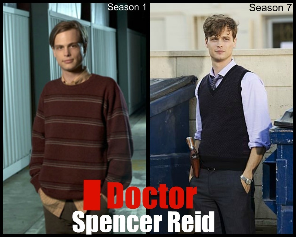 criminal minds, hawt stuff, matthew gray gubler, season 1, season 7