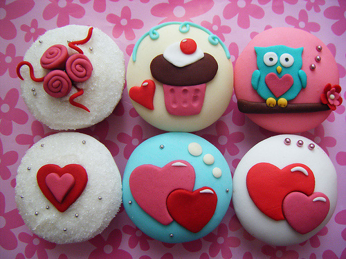cupcake, cute, food, para pambam, photography, pink, yummy