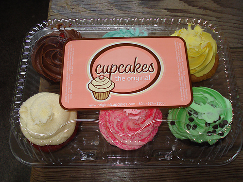 cupcakes, food, sweets
