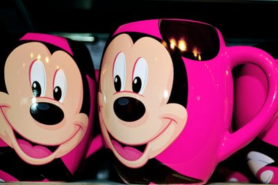 cute, disney, eyes, ivaa stojcic, mickey, mickey mouse, photography, pink, sweet