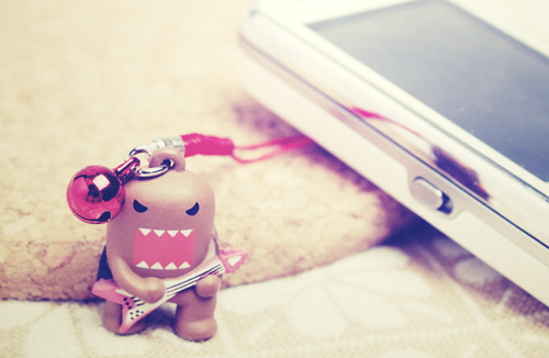 cute, domo, electric, guitar, love