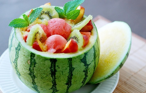 cute, food, fruit, watermelon