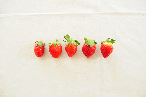 cute, food, pastel, photography, strawberry