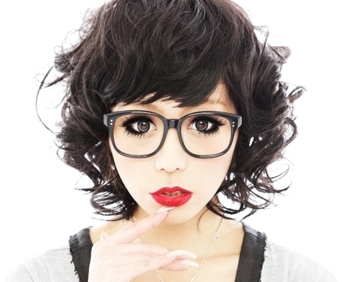 cute, girl, glasses, japanese, kawai