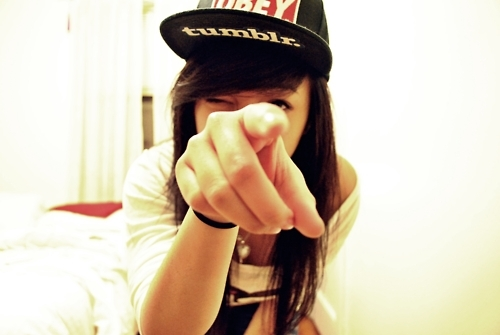 cute, girl, hate, obey