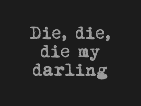 darling, die, misfits, quote, takbokke, text, the misfits