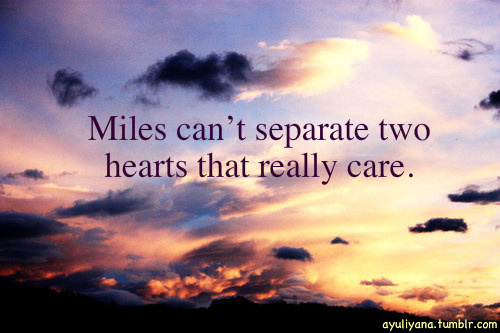 distance, hearts, love, miles
