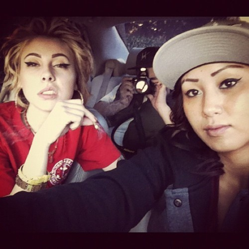 dope, girls , girls with swag , kreayshawn, smoking
