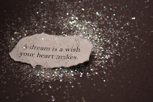 dream, heart, note, quote, sentence, typography, wish