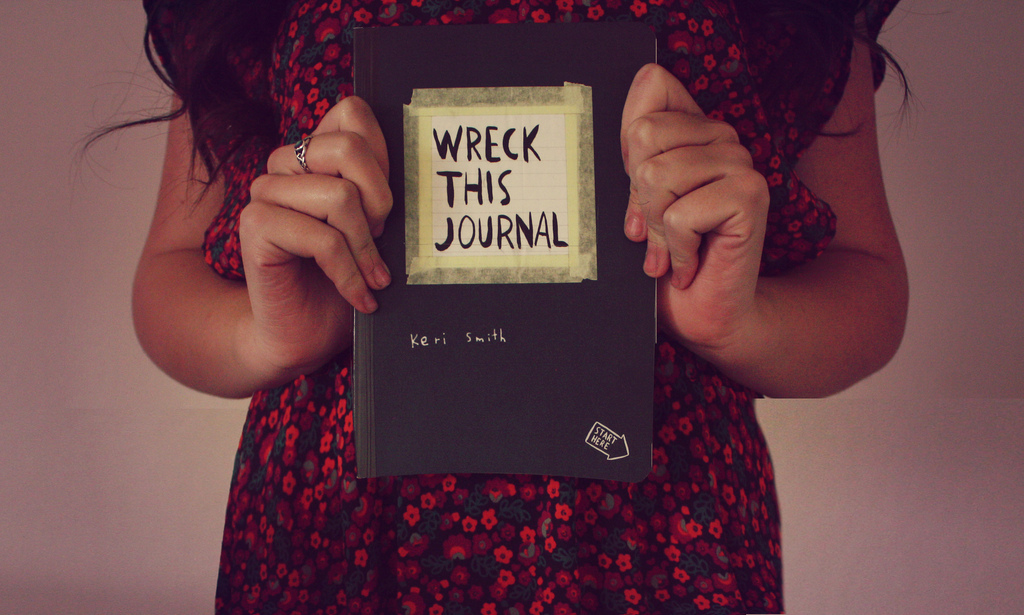 dress, girl, photography, wreck this journal