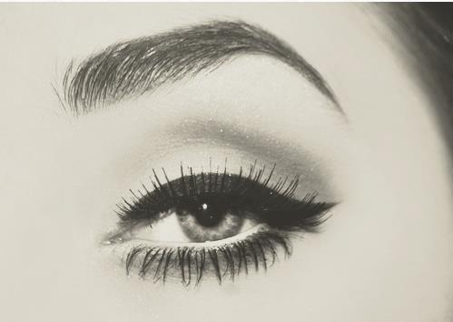 eye, eyeliner, lashes, makeup