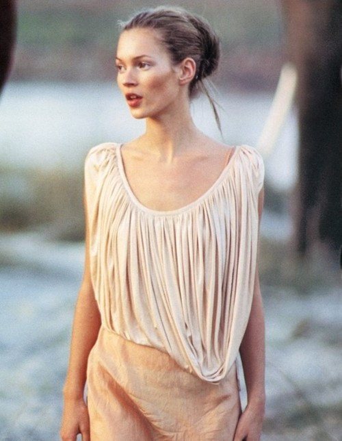 fashion, girl, kate, kate moss, model, pastel