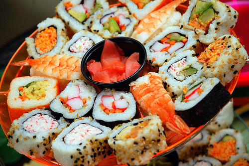 food, japanese, sushi, yummy
