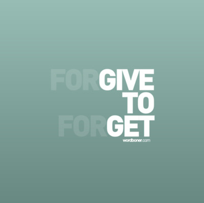forget, forgive, gave up, text, typography