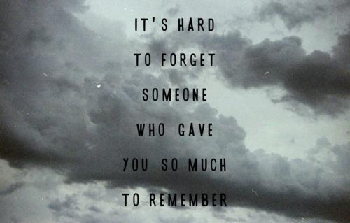 forget, hard, message, remember, text, words