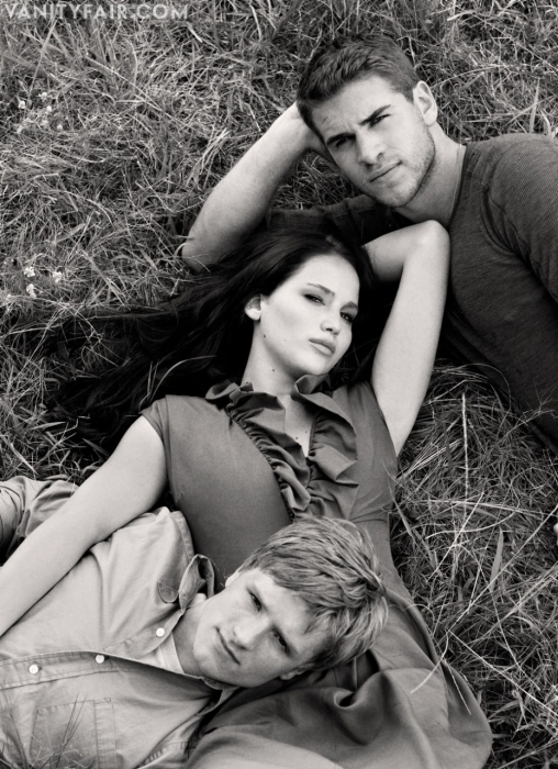 gale, jennifer lawrence, josh hutcherson, katniss, liam hensworth