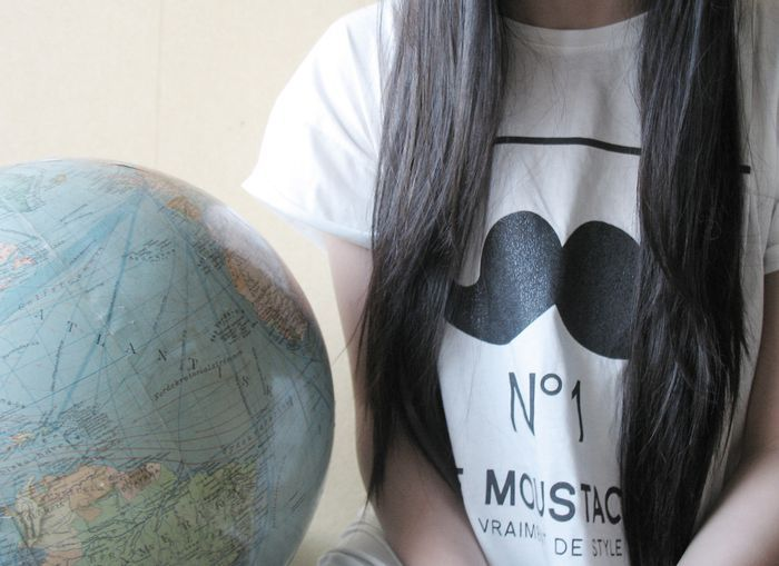 girl, globe, heart, inspiration, linh to phuong