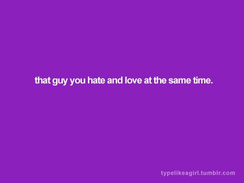girl, guy, hate, hate and love, love
