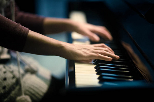 girl, hands, lovely, music, photography