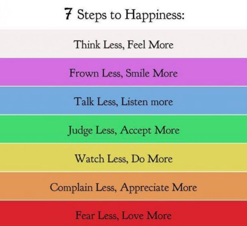 happiness, less, lesson, life, love