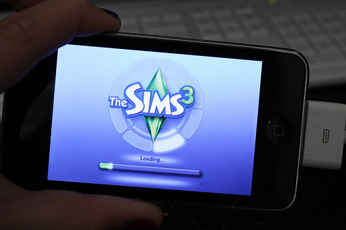 iphone, ipod, sims, the sims, the sims 3
