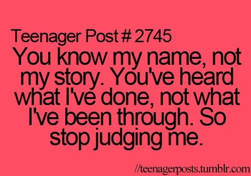 judjing, posts, rule, teenage, teenager, teenager post, truh