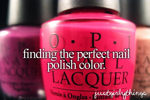 just girly things, justgirlythings, modee, nail polish, text