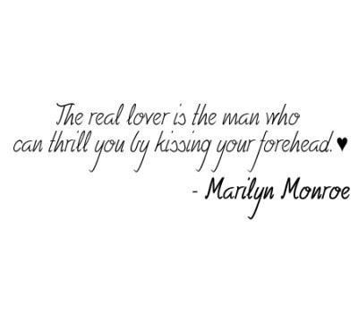 kiss, love, lover, marilyn, monroe, quote, real, text
